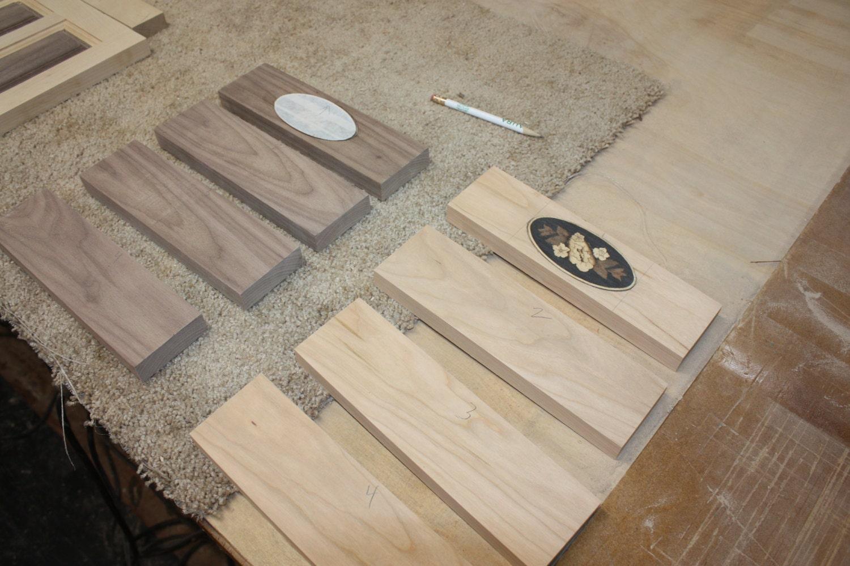 Inlay-ed Wood Medallion in Box