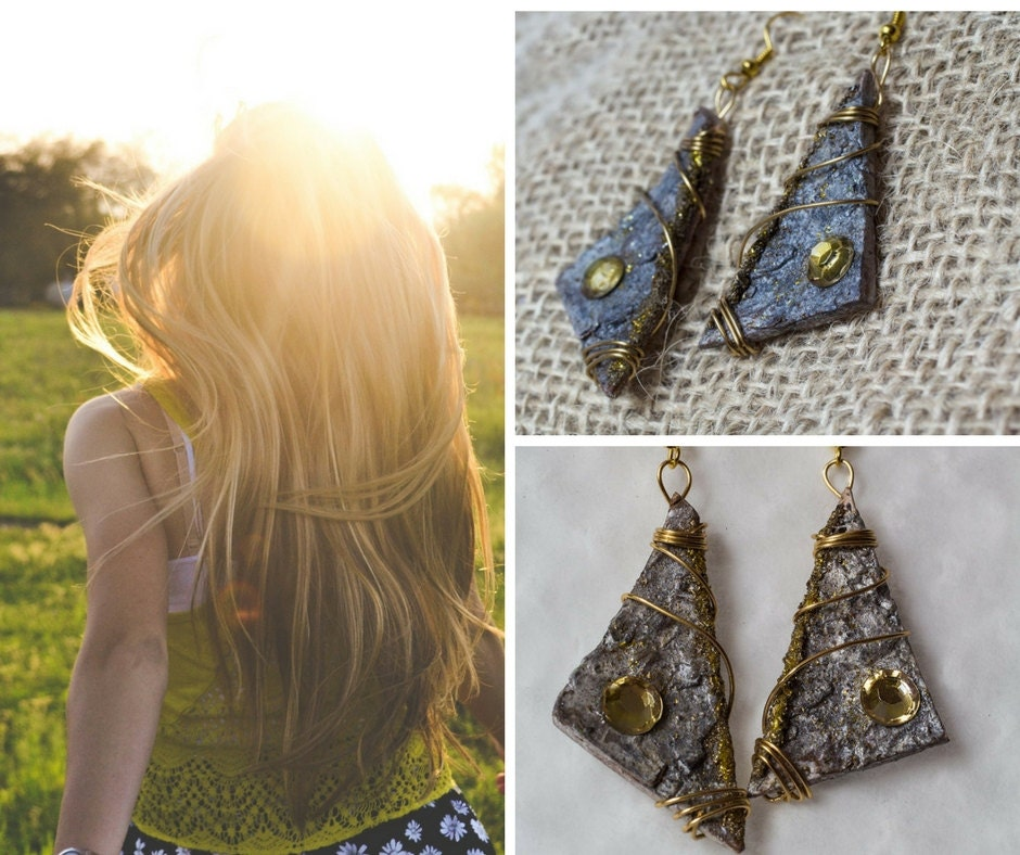gunadesign guna andersone birch bark earrings