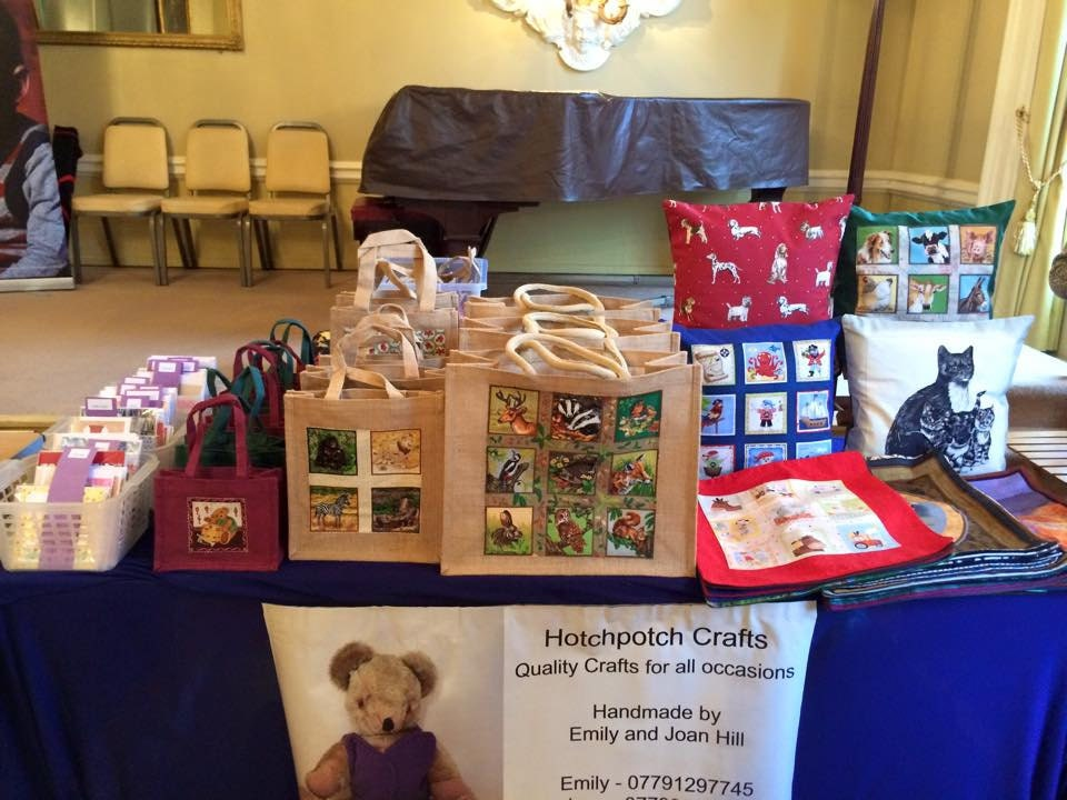 Our stall at Save the Children last year