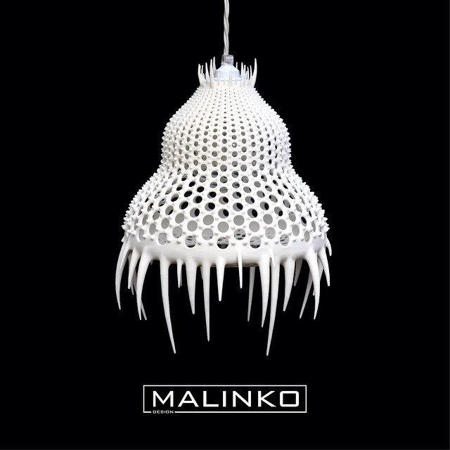 Plankton lamp - 3D printed award winning design