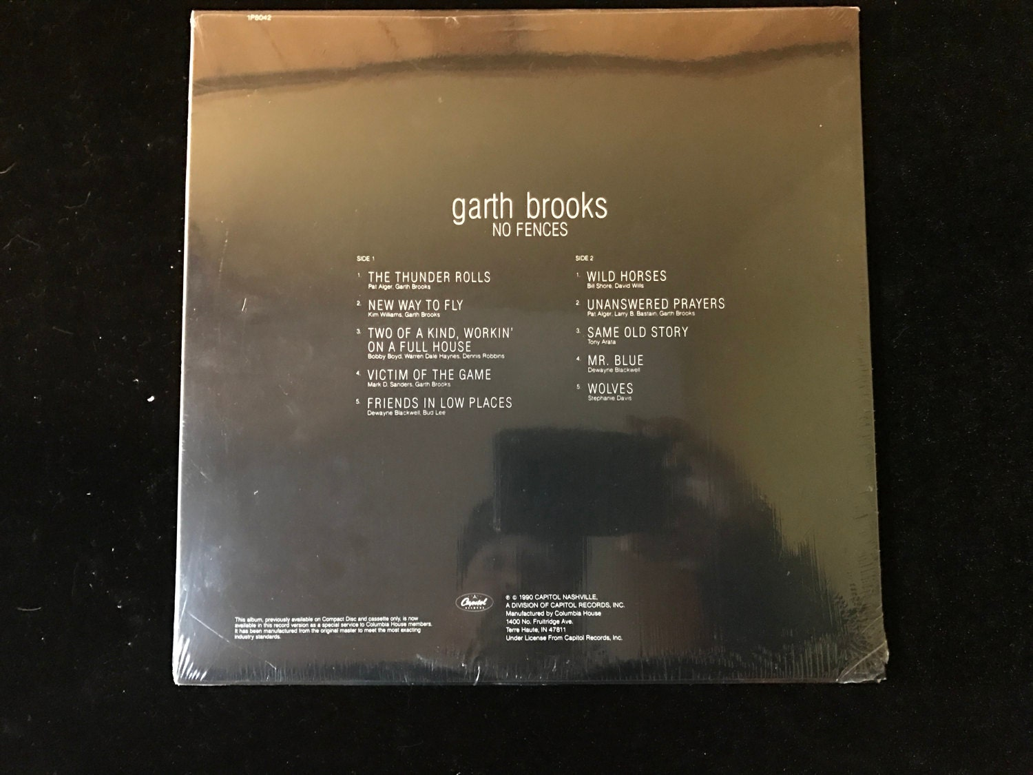 Garth Brooks-No Fences on vinyl FOR SALE!