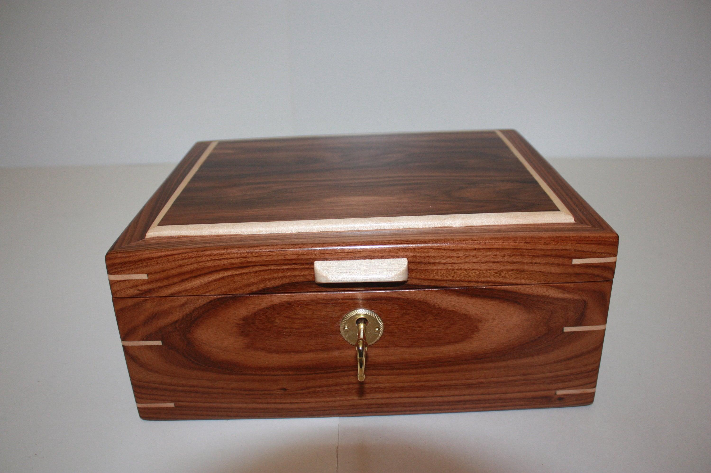 Handmade Locking Box For Sale