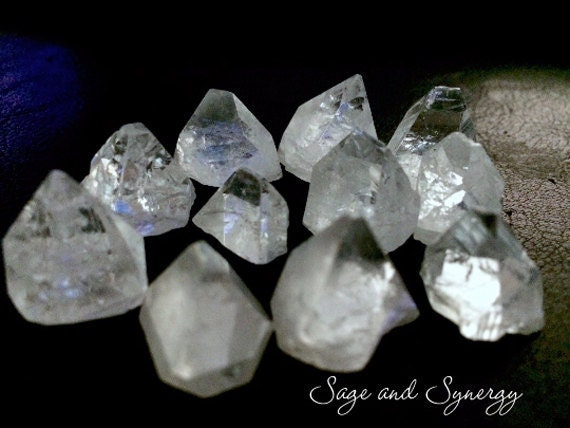 Apophyllite Points by Sage and Synergy
