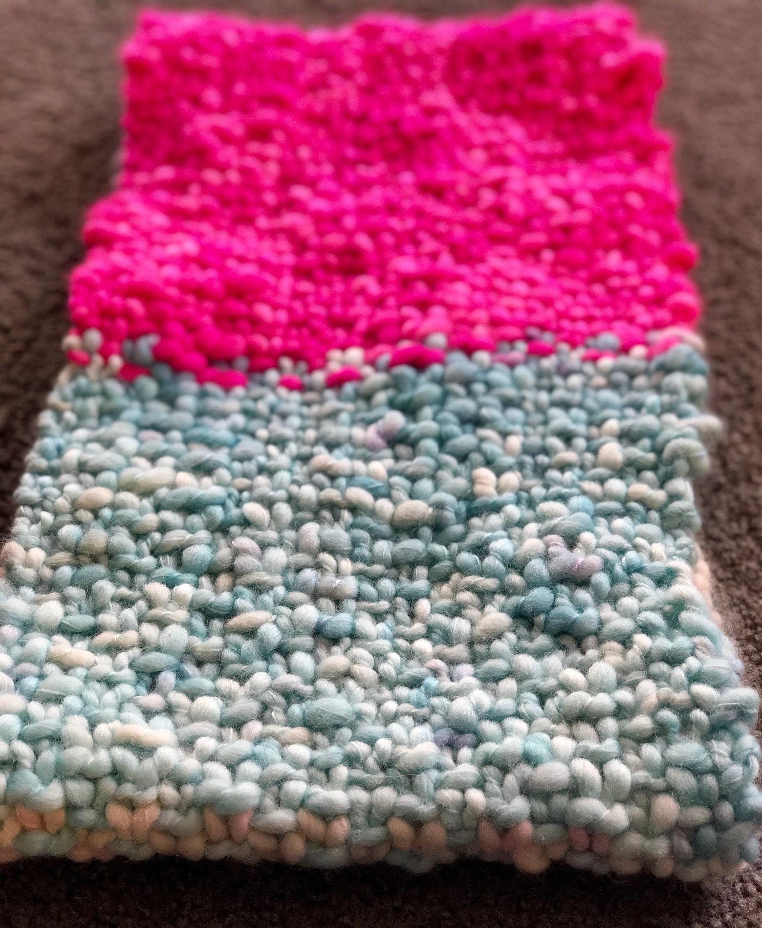 Linen stitch cowl