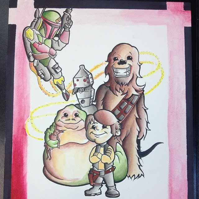 Painting for a younglings domicile.