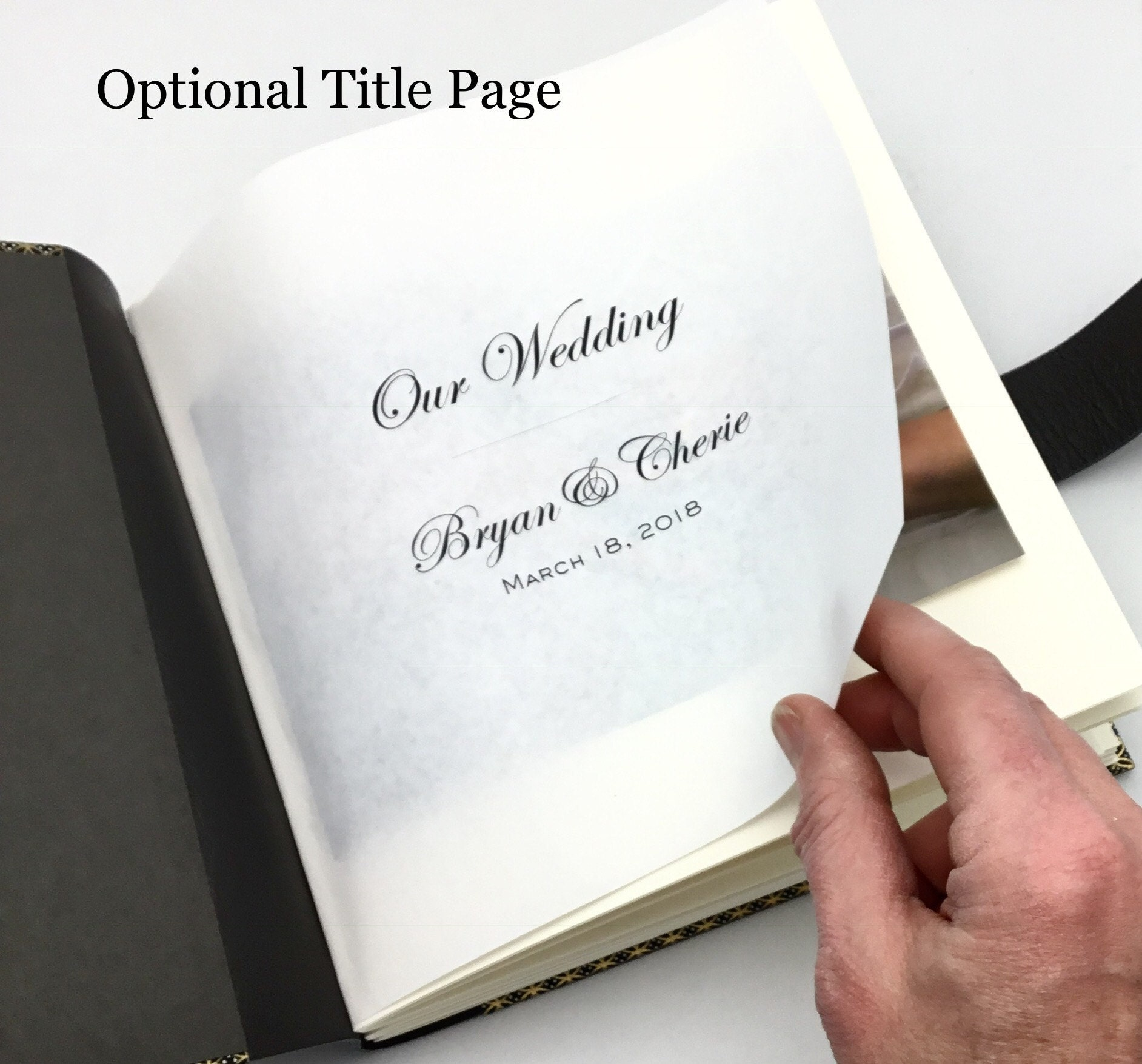 Optional Title Page