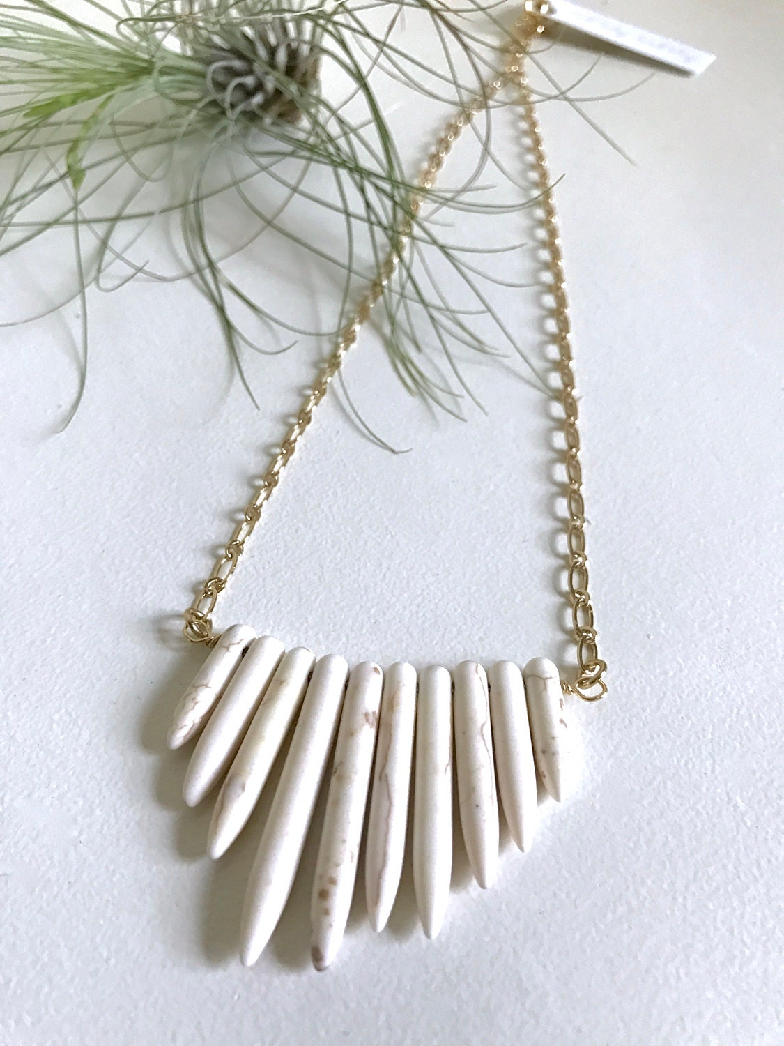 Statement Spike Necklace
