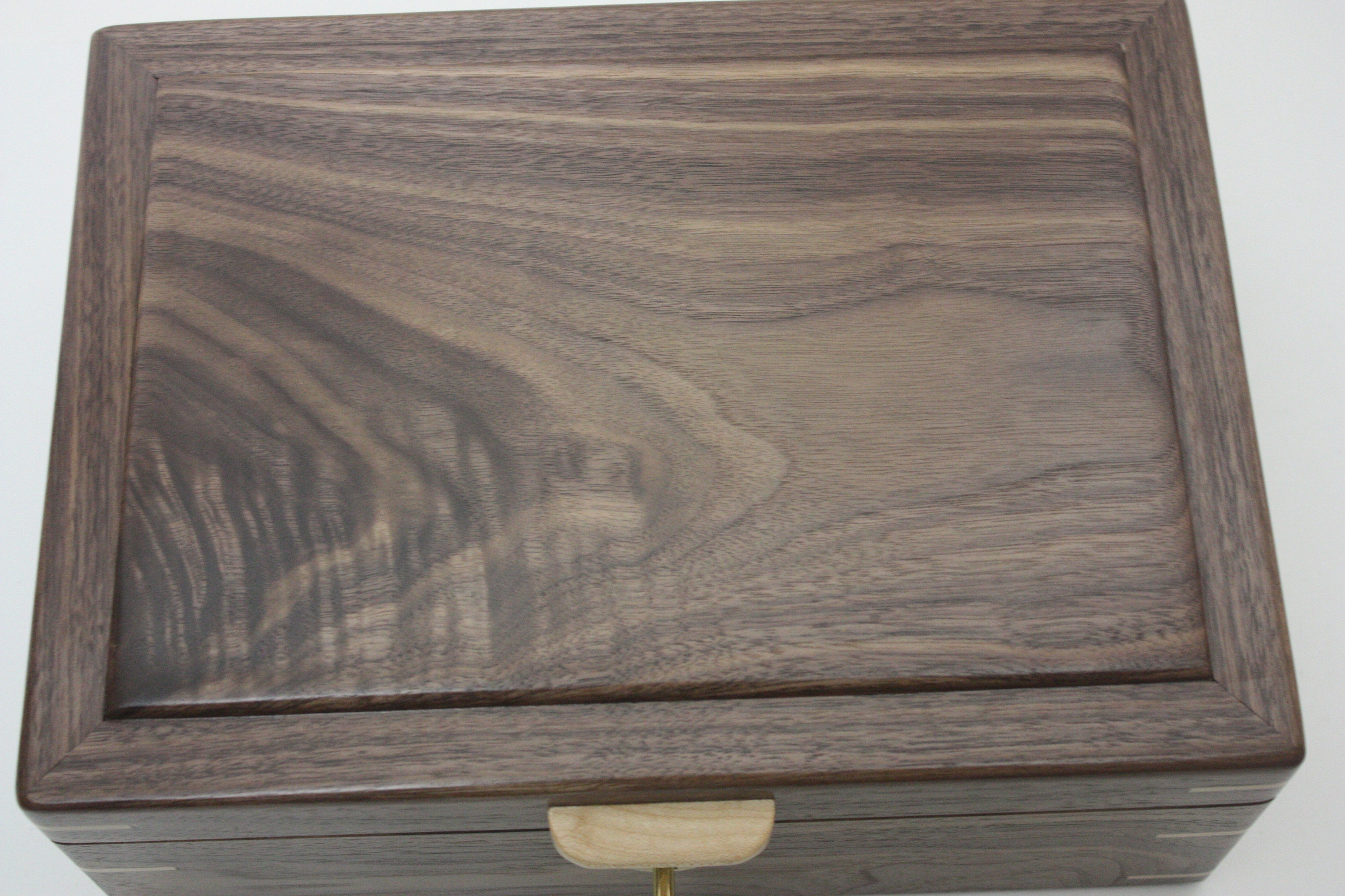Wild Grain Black Walnut Wood Box