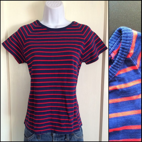 vintage striped t-shirt