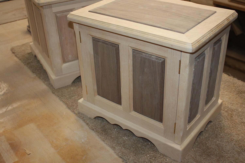 Handmade Raised Panel Large Jewelry Boxes