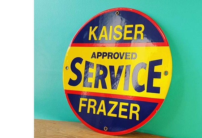 Reproduction Porcelain Automotive Signs $55