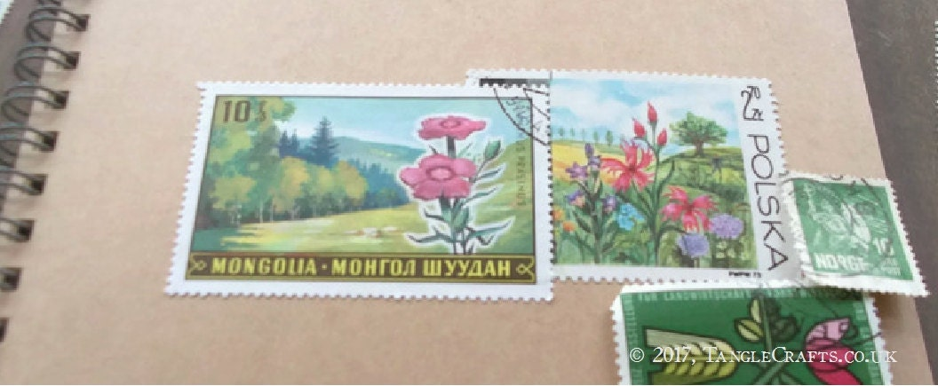 Two stamps = inspiration!