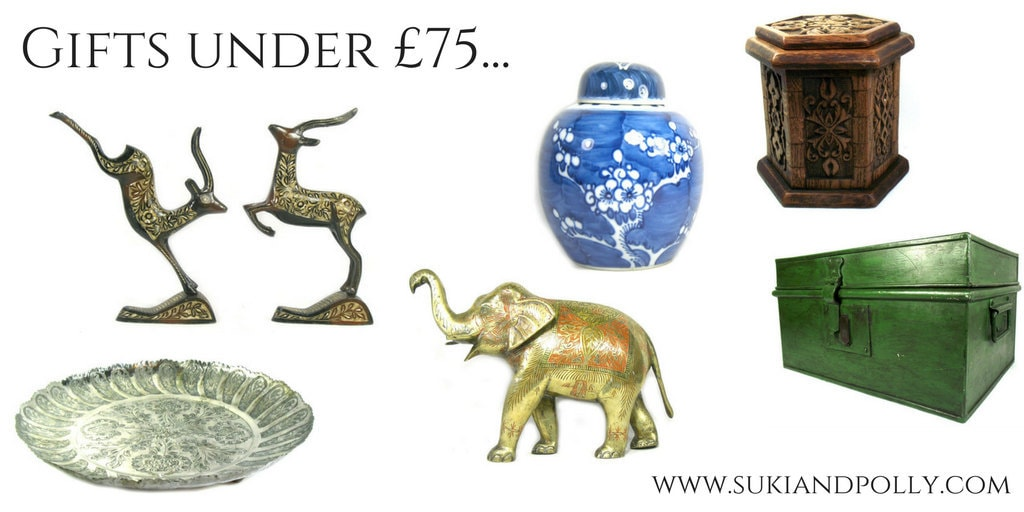 Christmas gifts under £75 from Suki and Polly