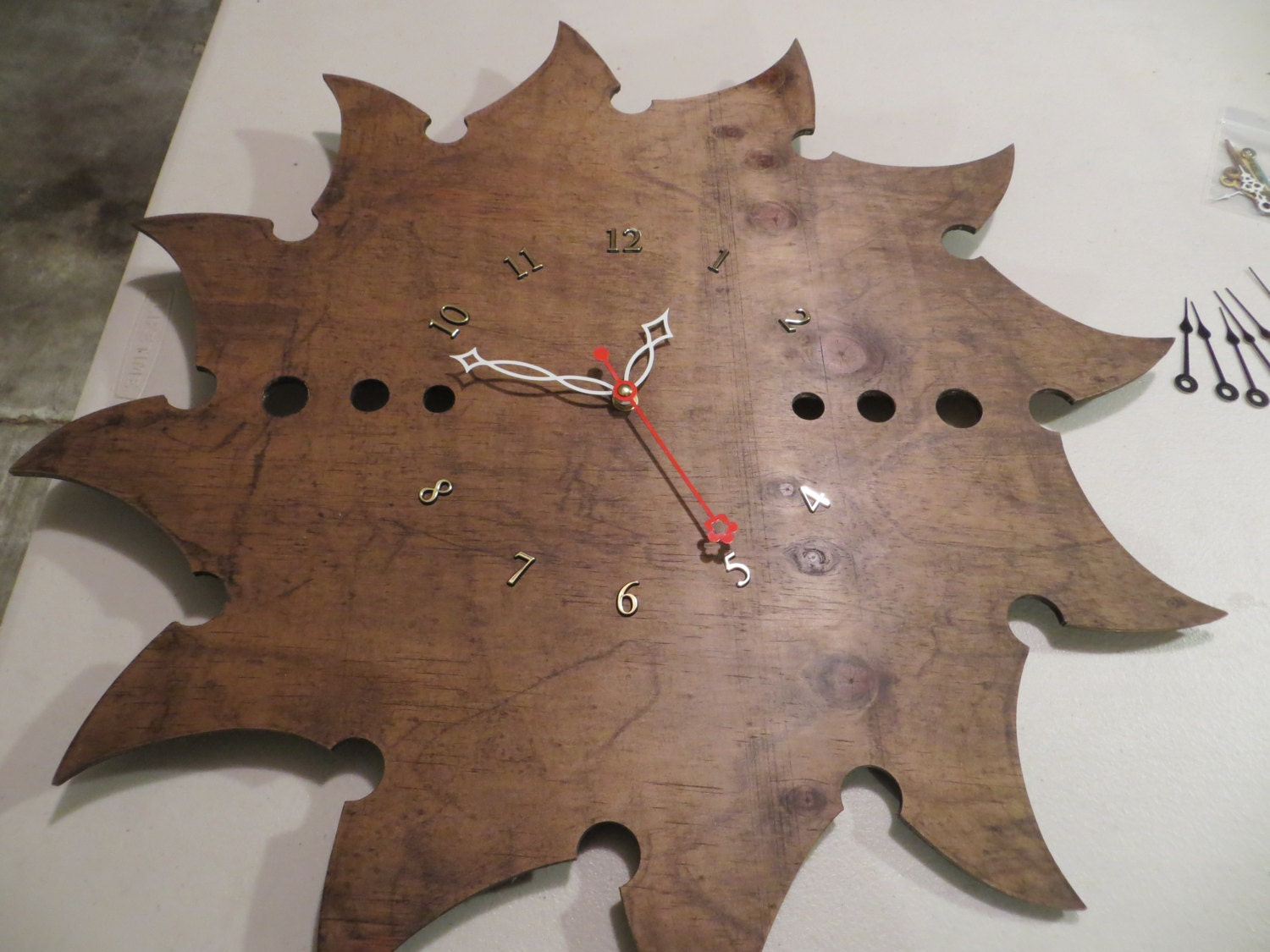 Oversized Handmade Clock
