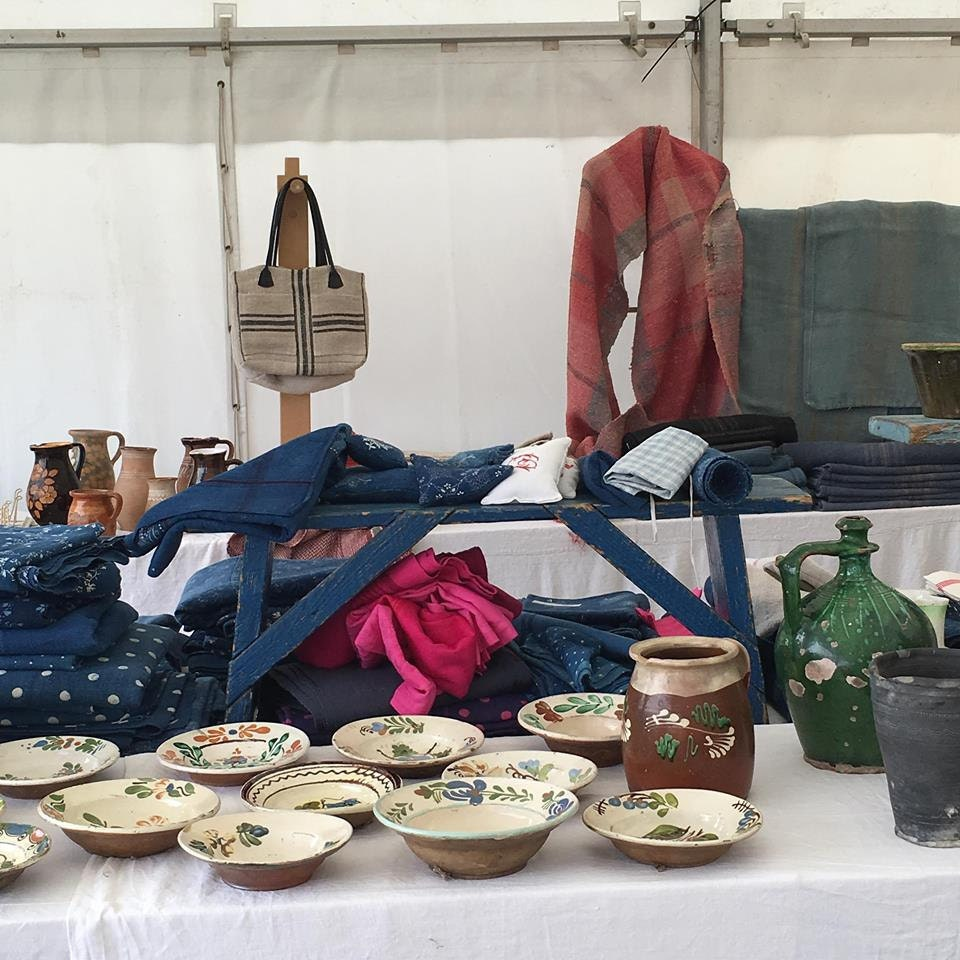 Hungarian pottery at Ardingly Fair