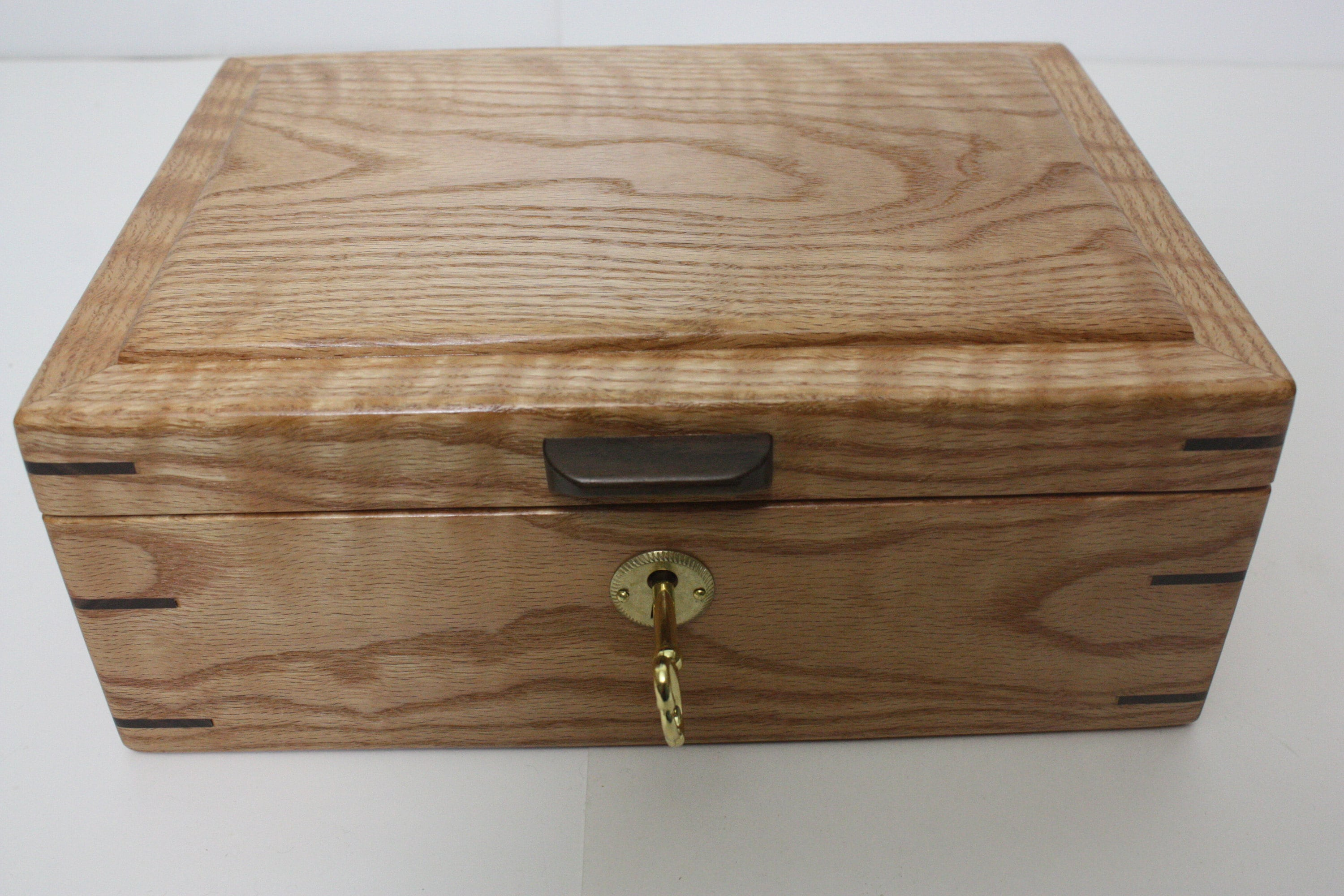 Handmade Locking Wood Box Foe Sale