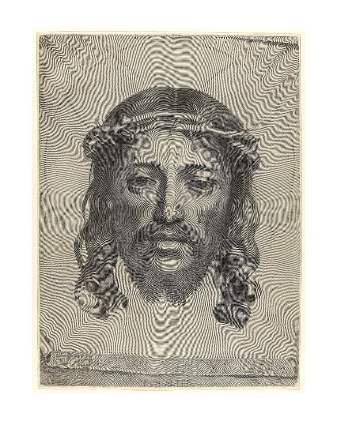 The Face of Christ by Claude Mellan x Majestic Prints