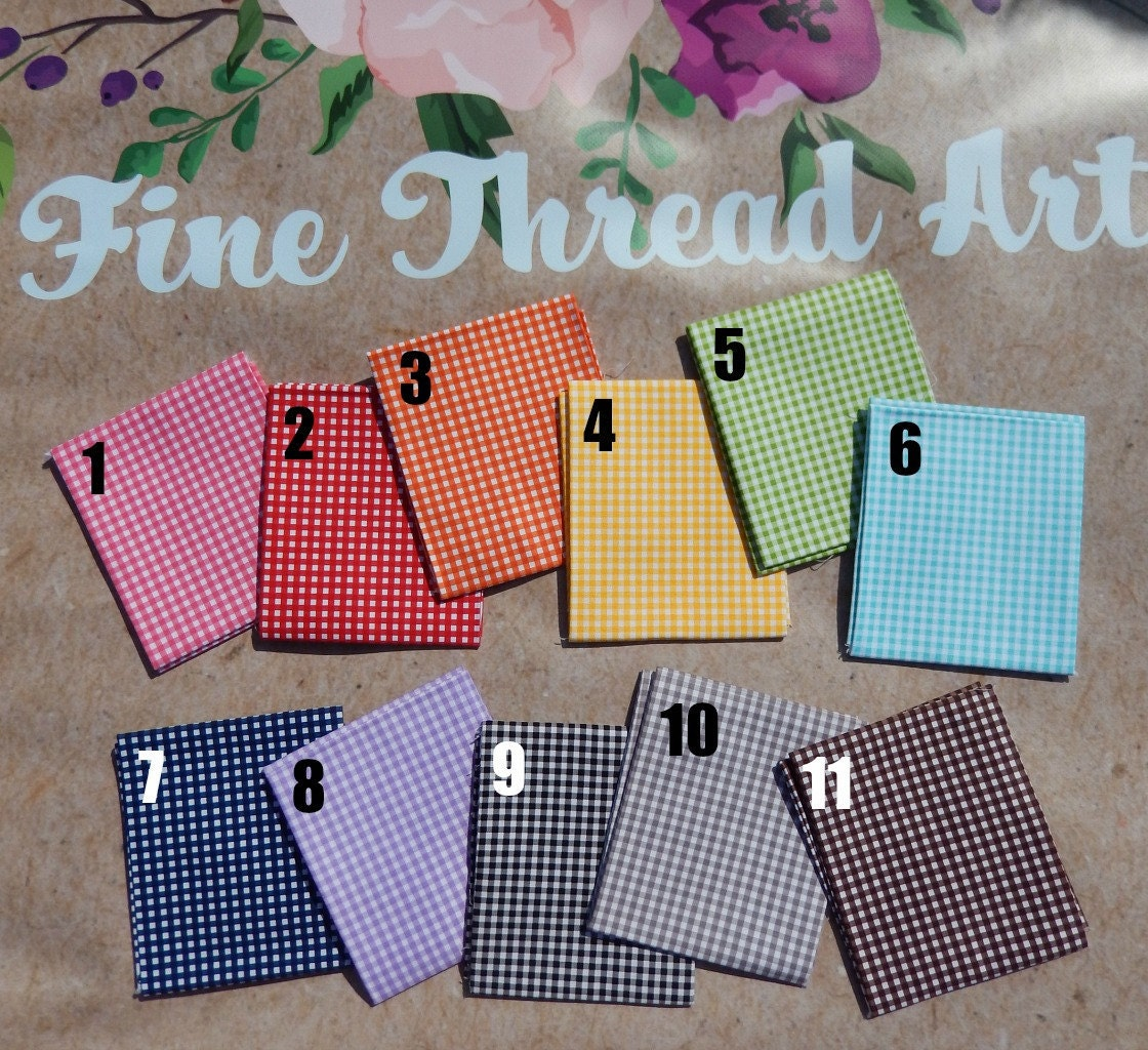 Gingham Check Colors