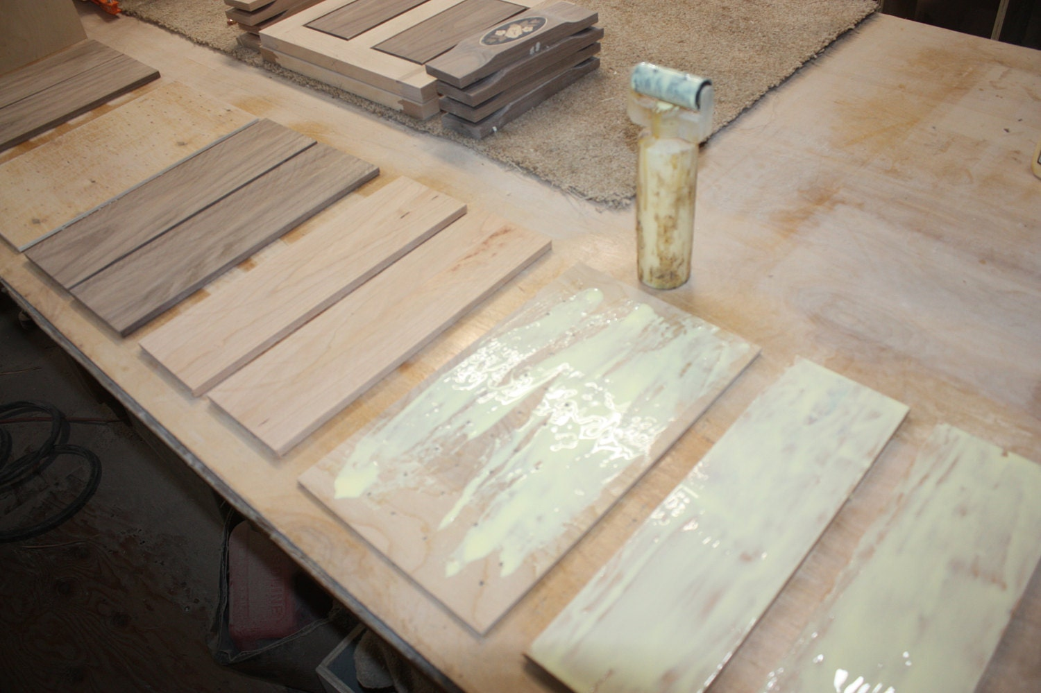 Gluing up Lids for Jewelry Boxes