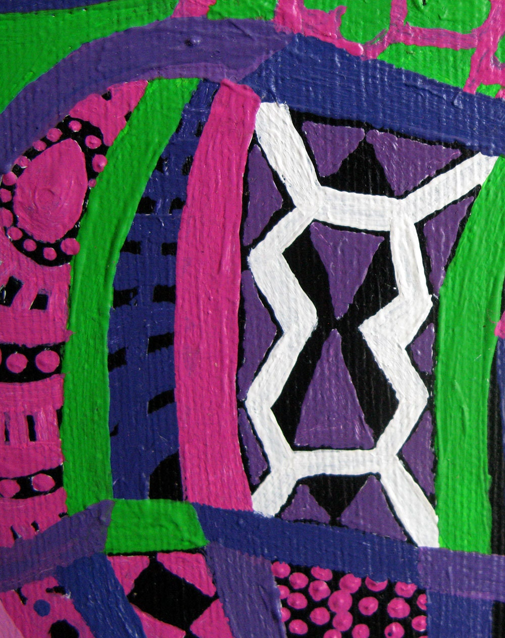 Large Psychedelic Nude detail 3