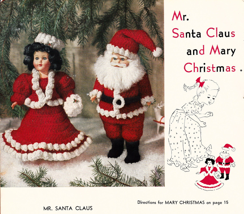Santa Claus free crochet pattern