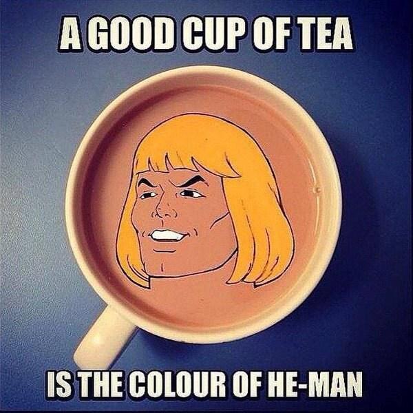 ChickenPink - He-man tea or no?