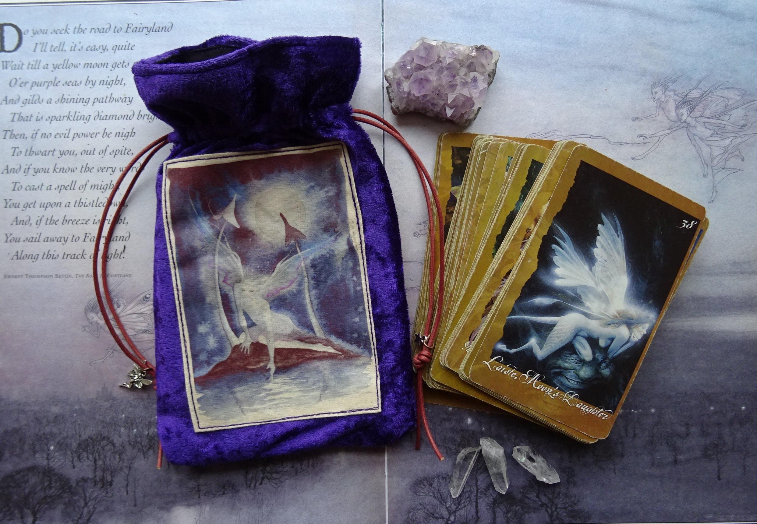 My Special handmade Tarot Card Bags