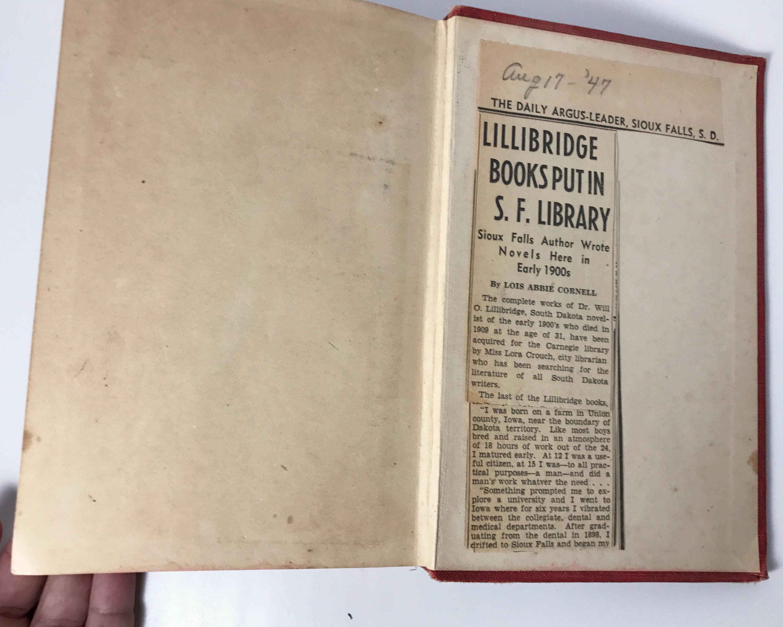 Newspaper article on Will Lillibridge