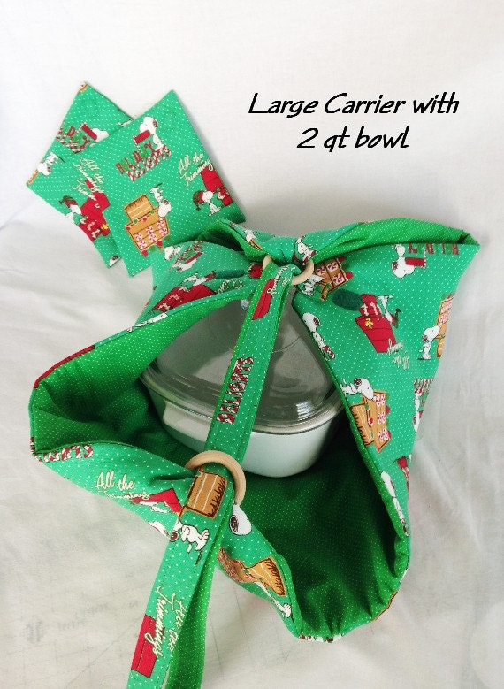 Sew With It Snoopy Casserole Carrier