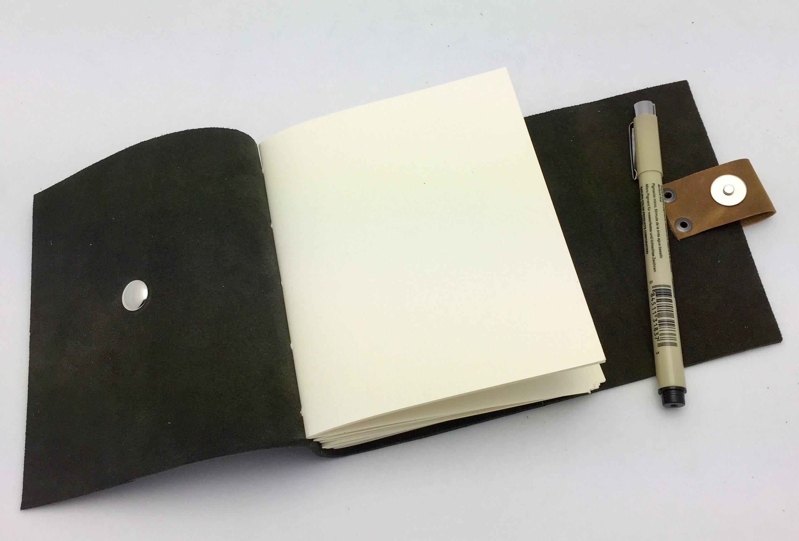 small black journal inside