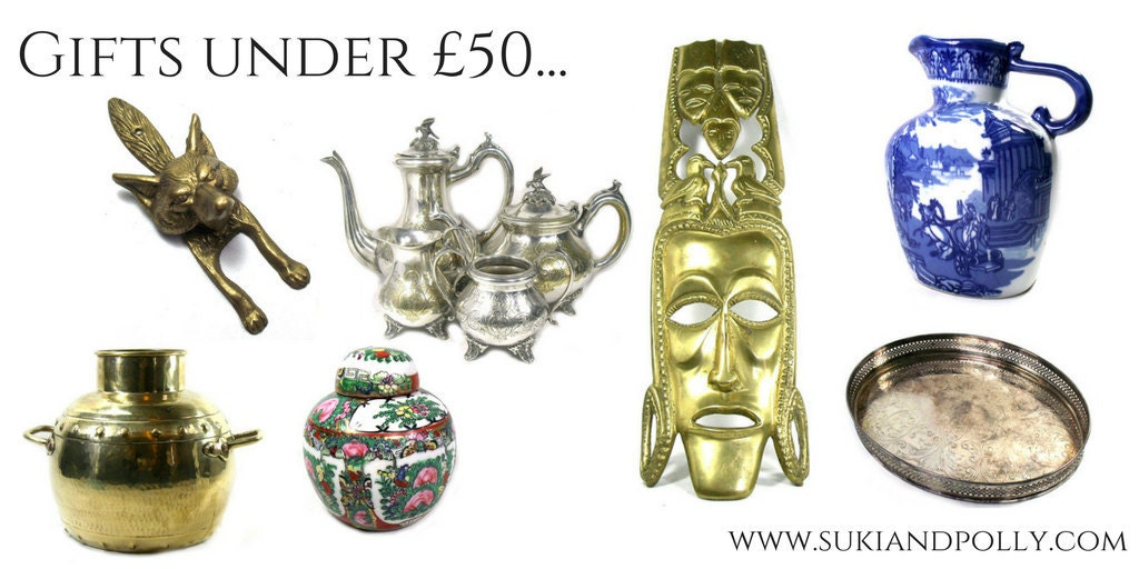 Christmas gifts under £50 from Suki and Polly