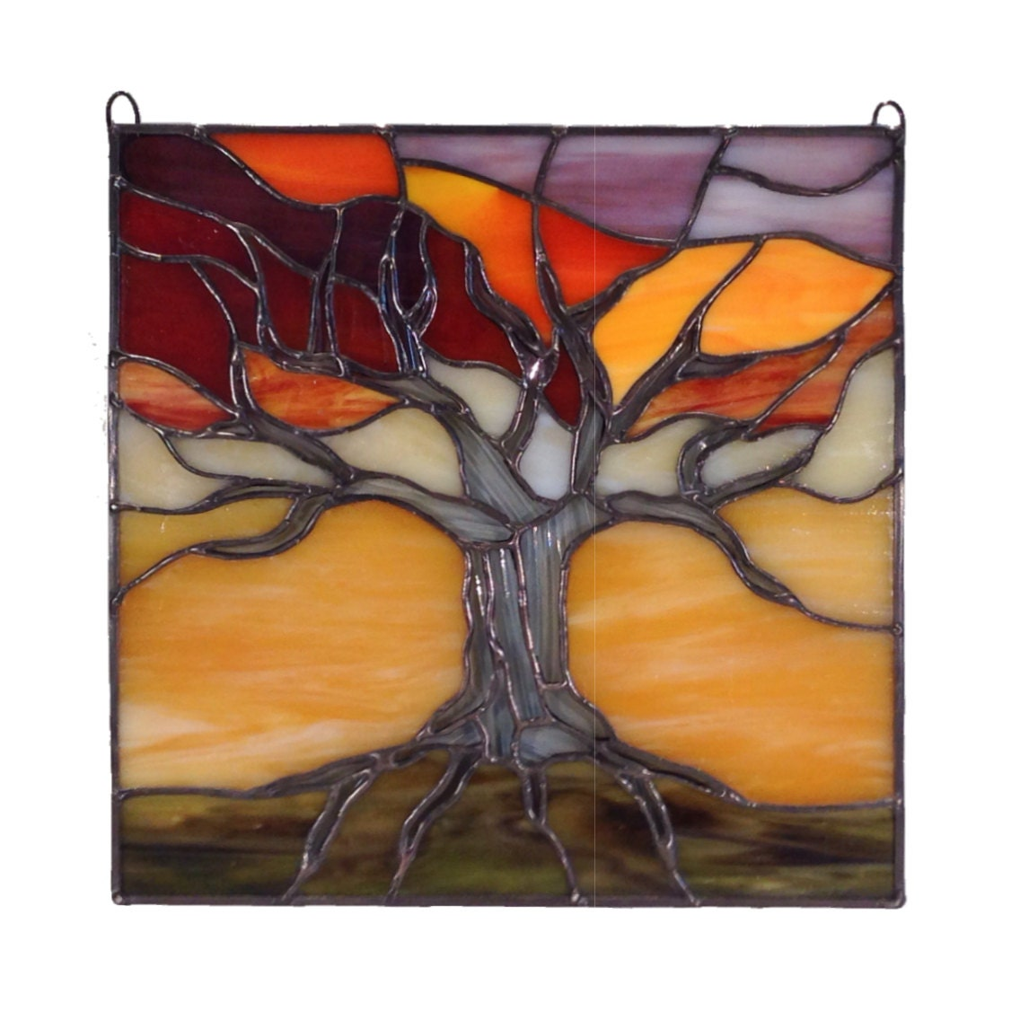Tree of Life at Sunset 10x10