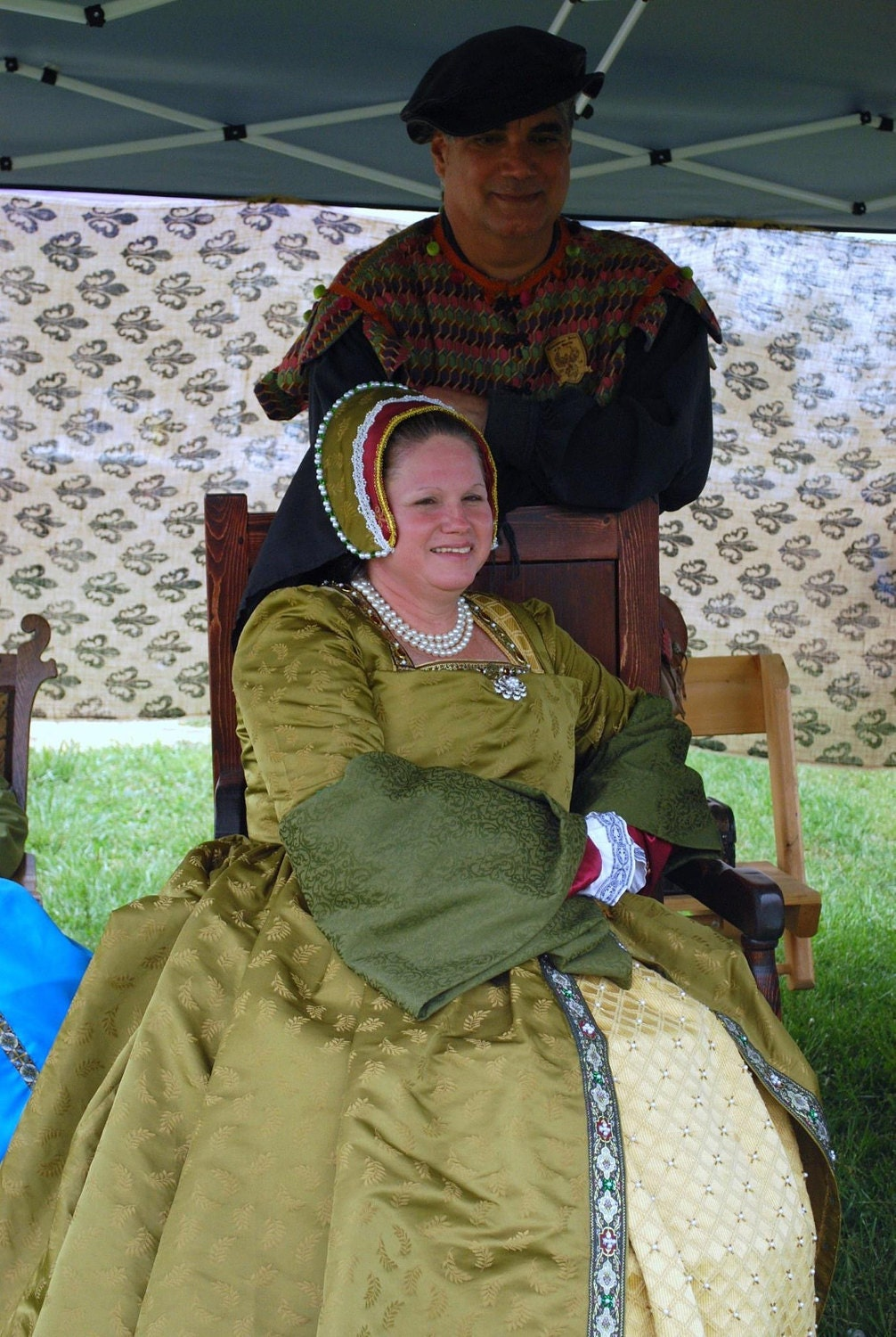 My hubby and I at the Renaissance Faire of the Ozarks