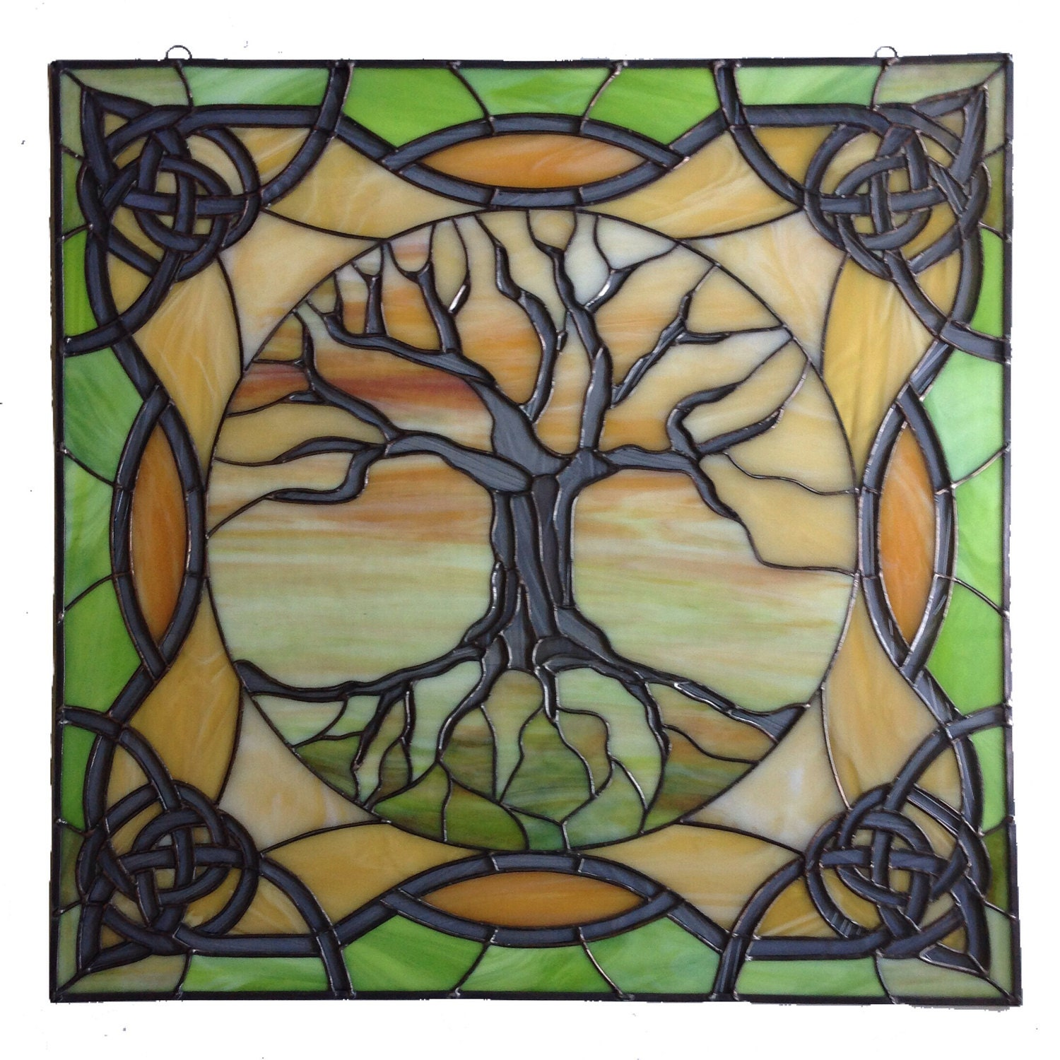 Tree of Life with Celtic Ornaments