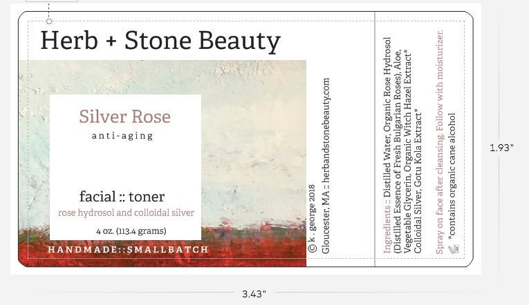 New Label in Progress for Silver Rose