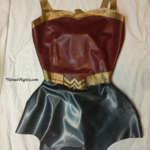 Custom Wonder Woman costume