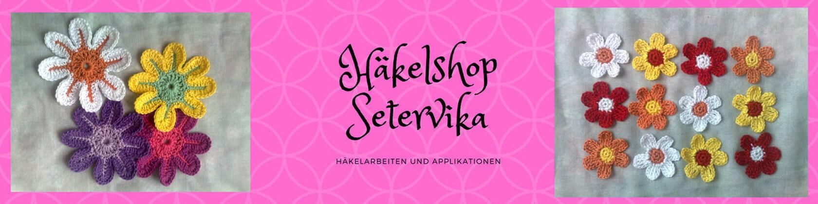 Herzlich willkommen in meinem Shop HaekelshopSetervika