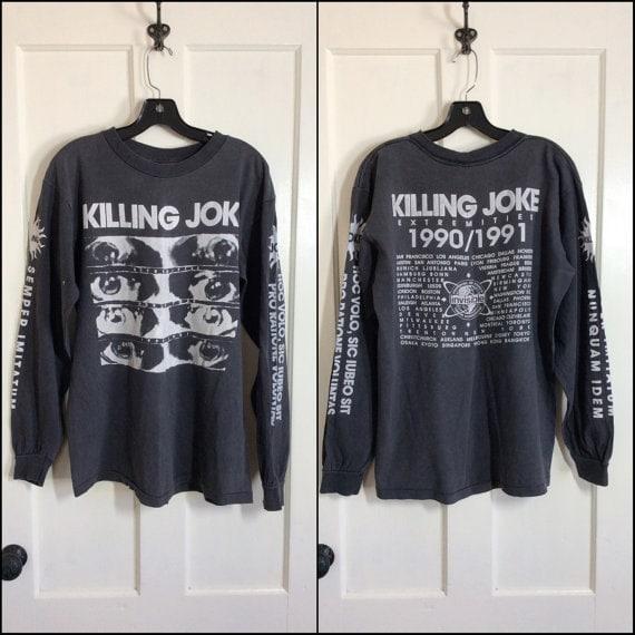 long sleeve Killing Joke 1990-1991 tour t-shirt