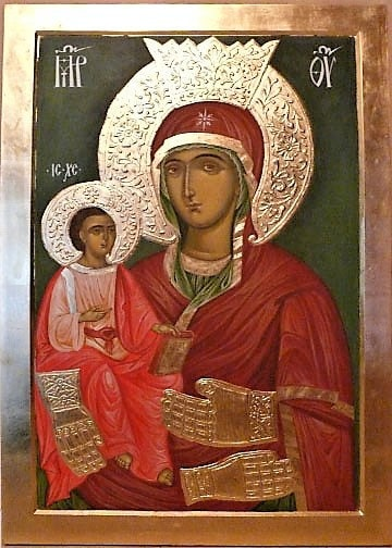 Icon of the Blessed Virgin with Three Hands,