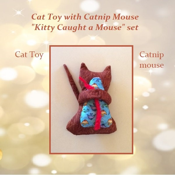 Kitty Caught a Mouse Cat toy Kitten Toy