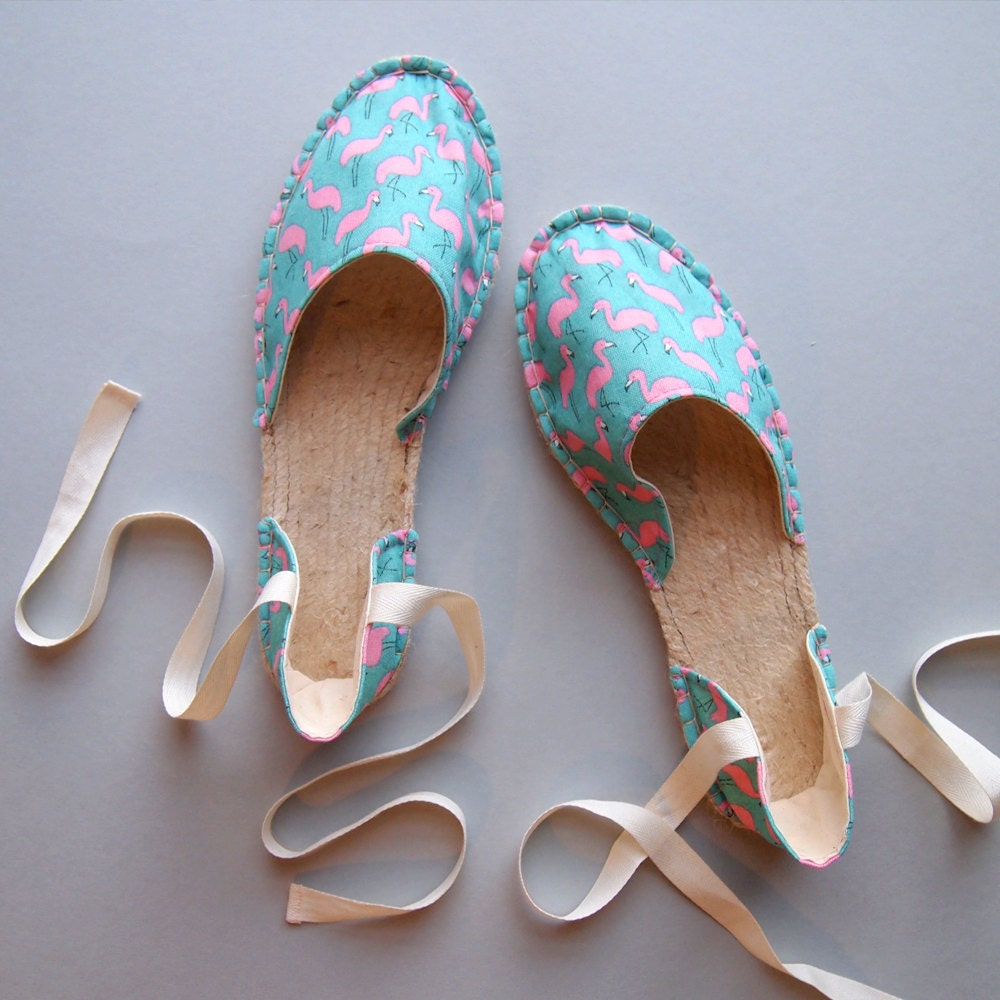 Make your own strappy espadrilles with Suzie London at The Village Haberdashery