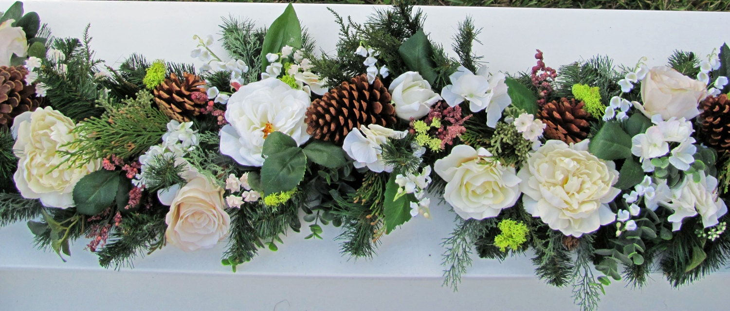Wedding Centerpiece Garlands for Reception Tables