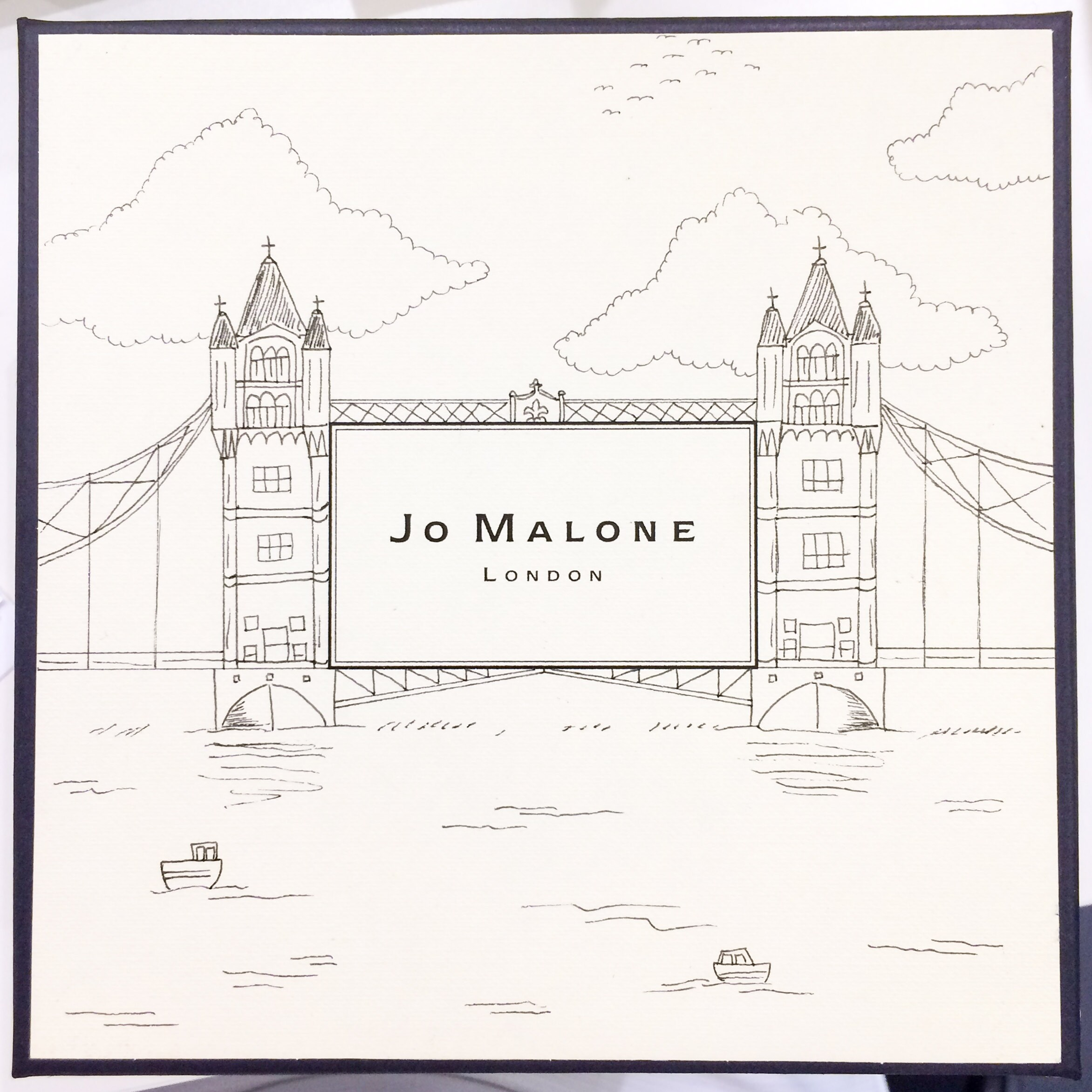 Jo Malone Gift Box Illustrations by Caroline Truong