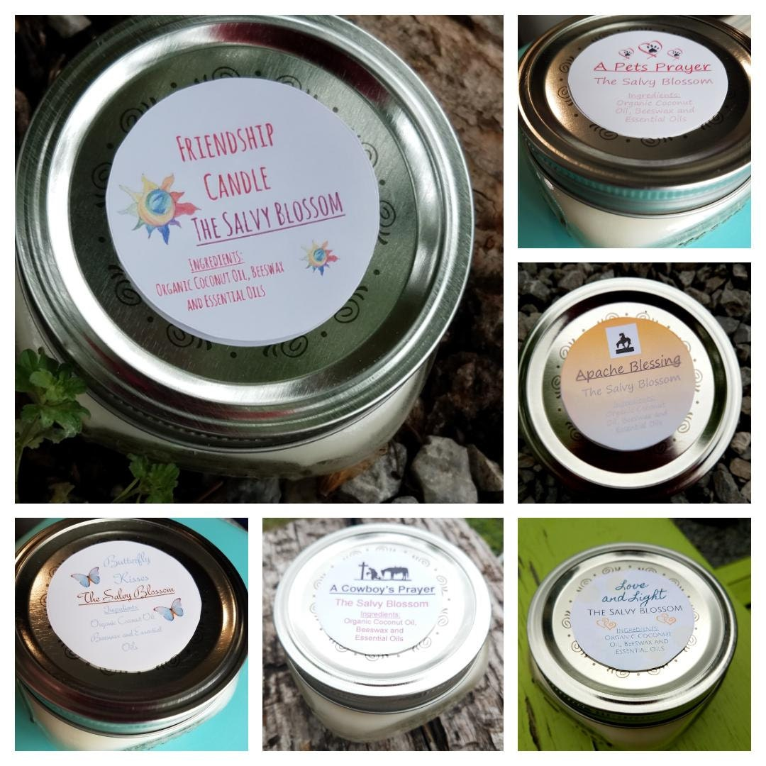 Organic Coconut Oil Candles