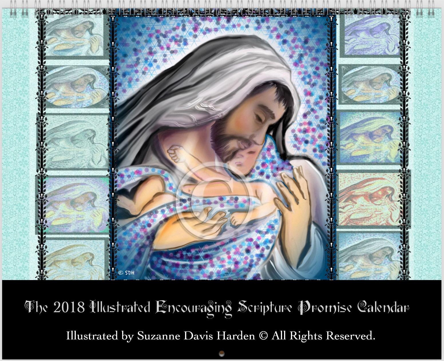 The 2018 Illustrated Encouraging Promise Calendar