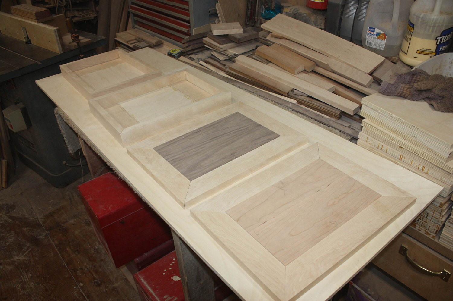 Making Lids and Bases for Jewelry Boxes