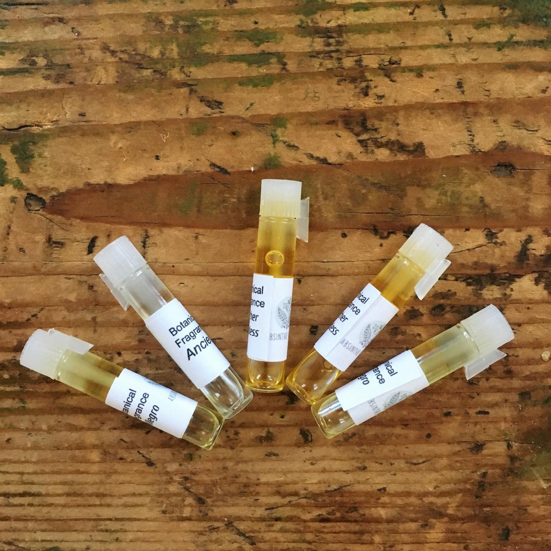 Botanical Fragrance Samplers