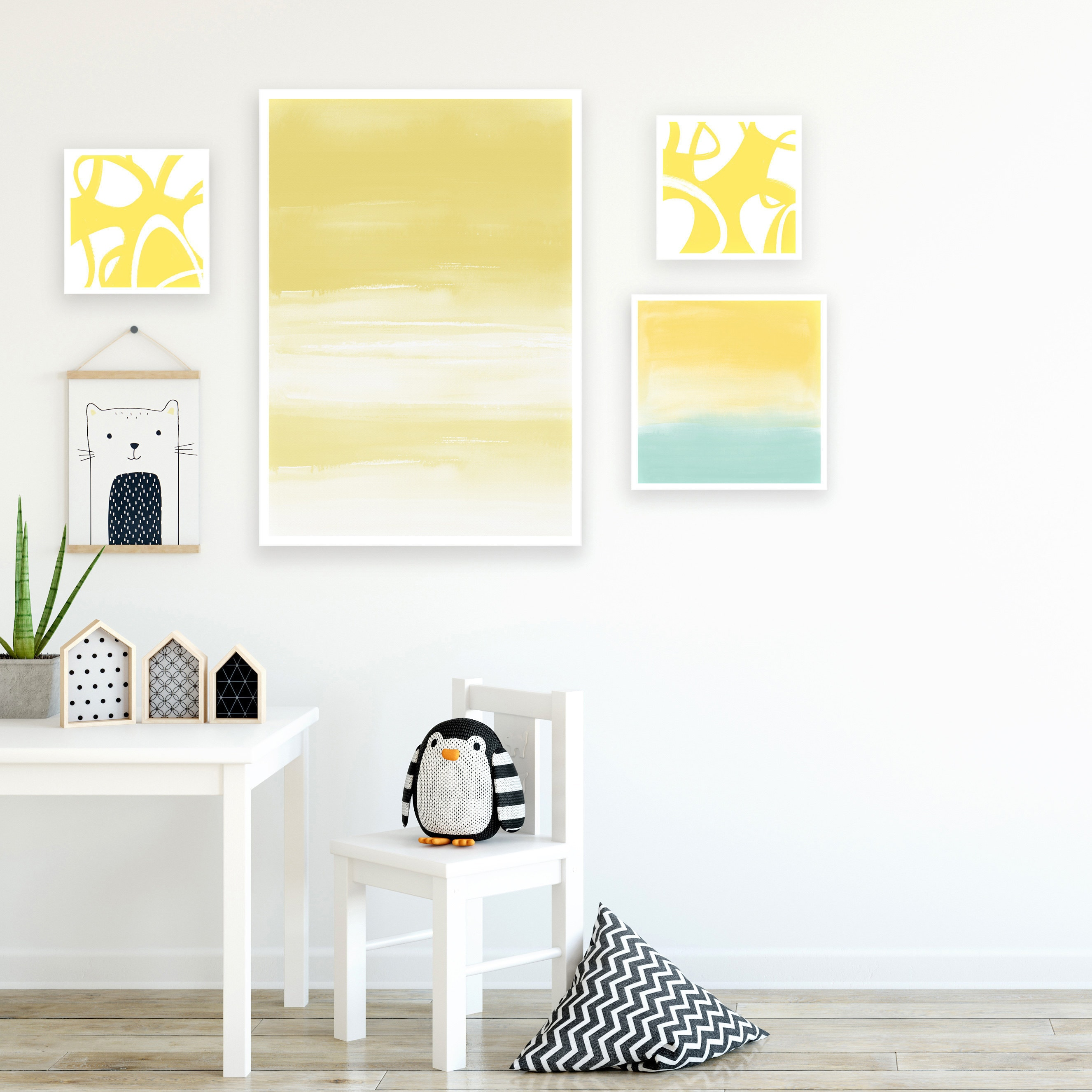 Inspiration Abstracts Nursery Wall Art