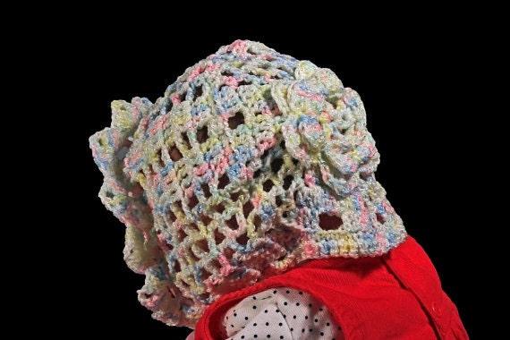 baby bonnet multicolored