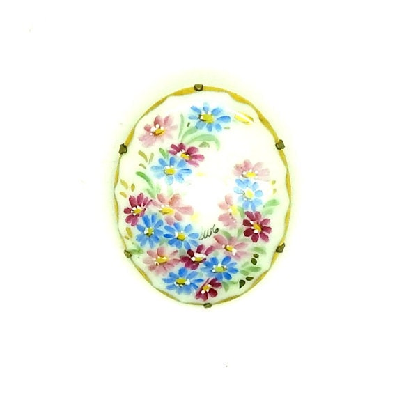 Blue brooch pin christmas gifts women